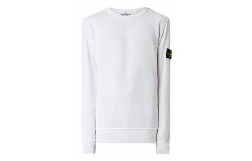 Stone Island 62720 Sweater Met Afneembaar Merkembleem