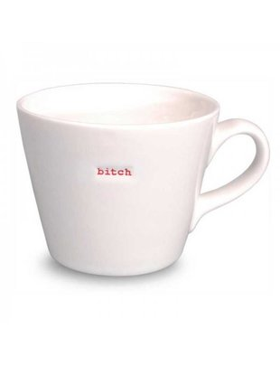 Keith Brymer Jones Bucket Mug 'BITCH' - Keith Brymer Jones