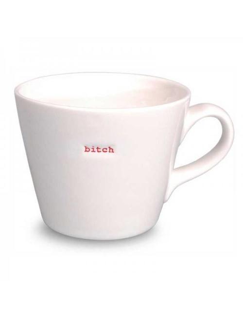 Keith Brymer Jones Bucket Mug 'BITCH' - Keith Brymer Jones