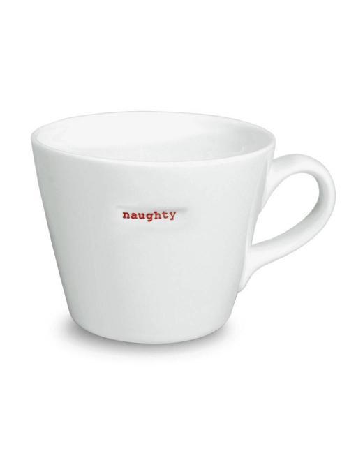 Keith Brymer Jones Bucket Mug 'NAUGHTY' - Keith Brymer Jones