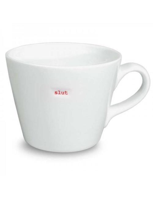 Keith Brymer Jones Bucket Mug 'SLUT' - Keith Brymer Jones