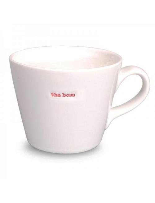 Keith Brymer Jones Bucket Mug 'The Boss' - Keith Brymer Jones