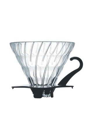 Hario Hario Dripper V60 #2 Glas Zwart