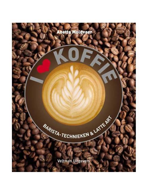 Boek I Love Koffie - Anette Moldvaer