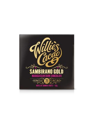 Willie's Cacao Willie's Cacao - Sambirano Gold - Madagascan Dark Choclate 71