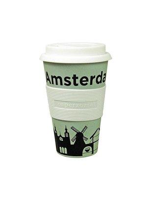 Zuperzozial Zuperzozial Cruising Travel Mug AMSTERDAM