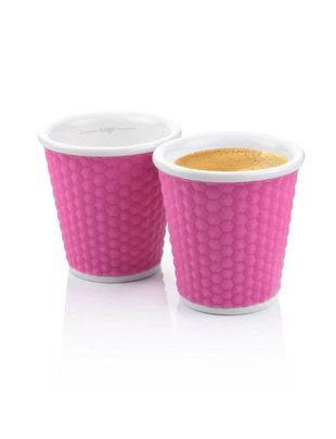 Les Artistes Les Artistes Espresso Cups 10cl Roze [2 stuks]