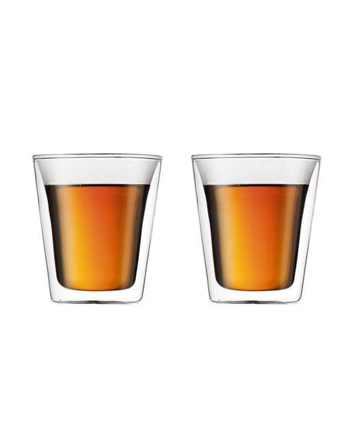 Bodum Bodum dubbelwandige glazen Canteen 0.2L [2 stuks]