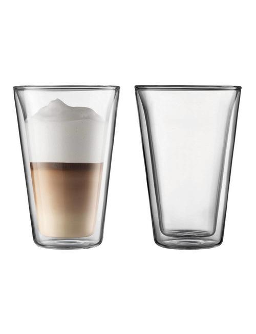 Bodum Bodum dubbelwandige glazen Canteen 0.4L [2 stuks]