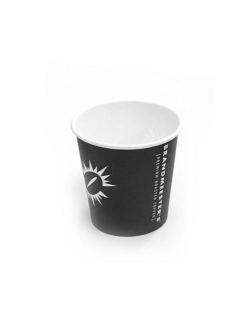 Brandmeester's Paper Cup 7oz Zwart [streng 100 stuks]