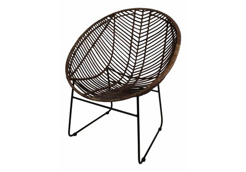 HSM Collection Fauteuil Cocon rotan