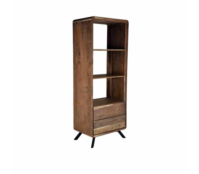 Boekenkast Havana 70x45x181cm