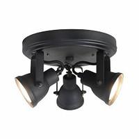 Plafond lamp Spot Max 3-lichts (incl 3x led)