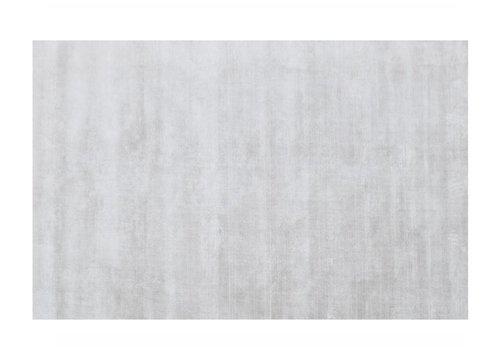 BRIX Vloerkleed Vicky 100% viscose 230x160cm silver