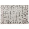 Kokoon design Vloerkleed SCRIBE 230x160cm grijs/zwart