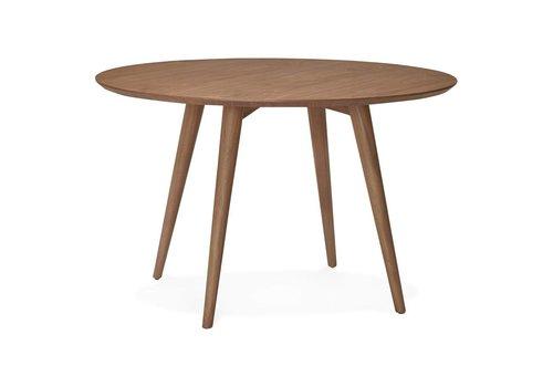 Kokoon design Eettafel rond JANET 120 cm walnoot