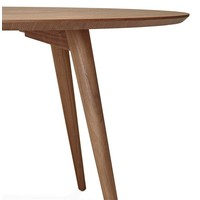Eettafel rond JANET 120 cm walnoot