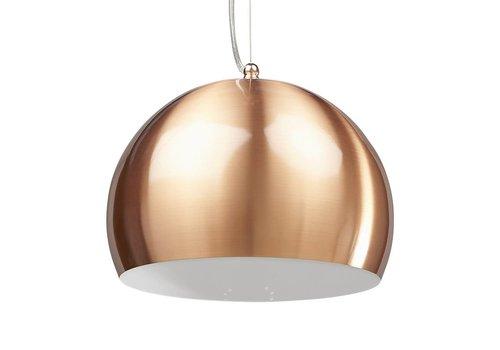 Kokoon design Hanglamp  rond JELLY koper
