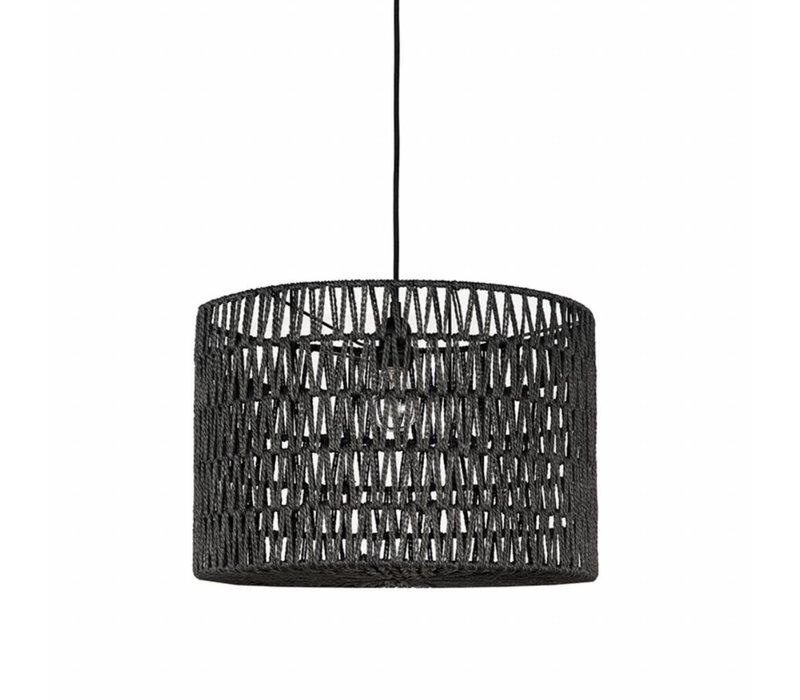 Hanglamp Stripe wit 45x45x30 cm