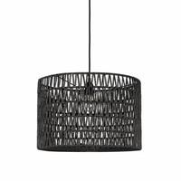 Hanglamp Stripe  grijs 45x45x30 cm