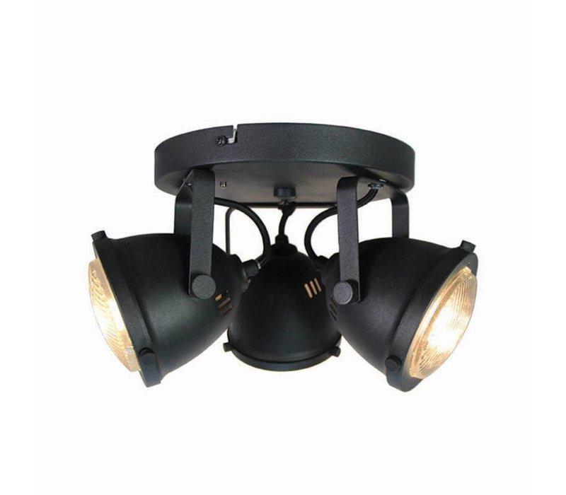 Plafondlamp LED Spot Moto 3-Lichts