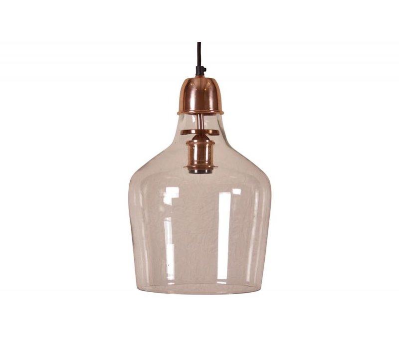 Hanglamp Sage Ø23 glas koper