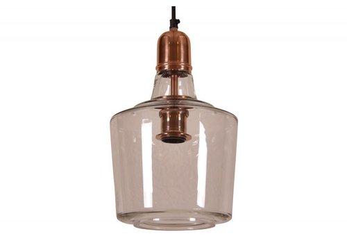hoom-amsterdam Hanglamp Yole  Ø21 glas koper