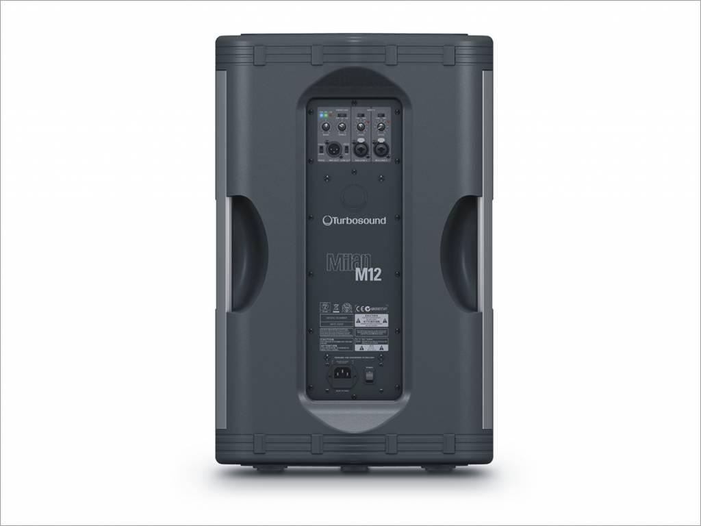 turbosound milan m12 the audio specialists. Black Bedroom Furniture Sets. Home Design Ideas