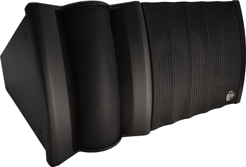 "Clair Brothers Active 2-Way Curved Line Array, 15"" LF, 2x1.4"" HF, (100°Hx25"