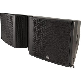 "Clair Brothers 3-way active mobile array:2x18""LF,6x6""MF,3x3""HF
