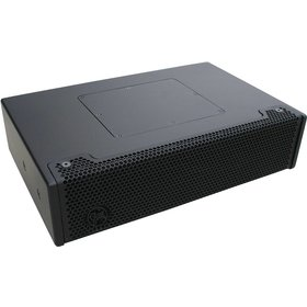"""Clair Brothers 2-way passive full rng stair speaker: 2x5""""LF, 1""""HF 90°Hx60°V"""