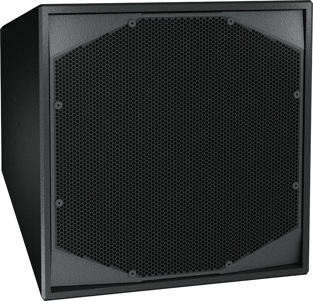 "Clair Brothers Active coaxial, horn-loaded: 12""LF, 3""HF 