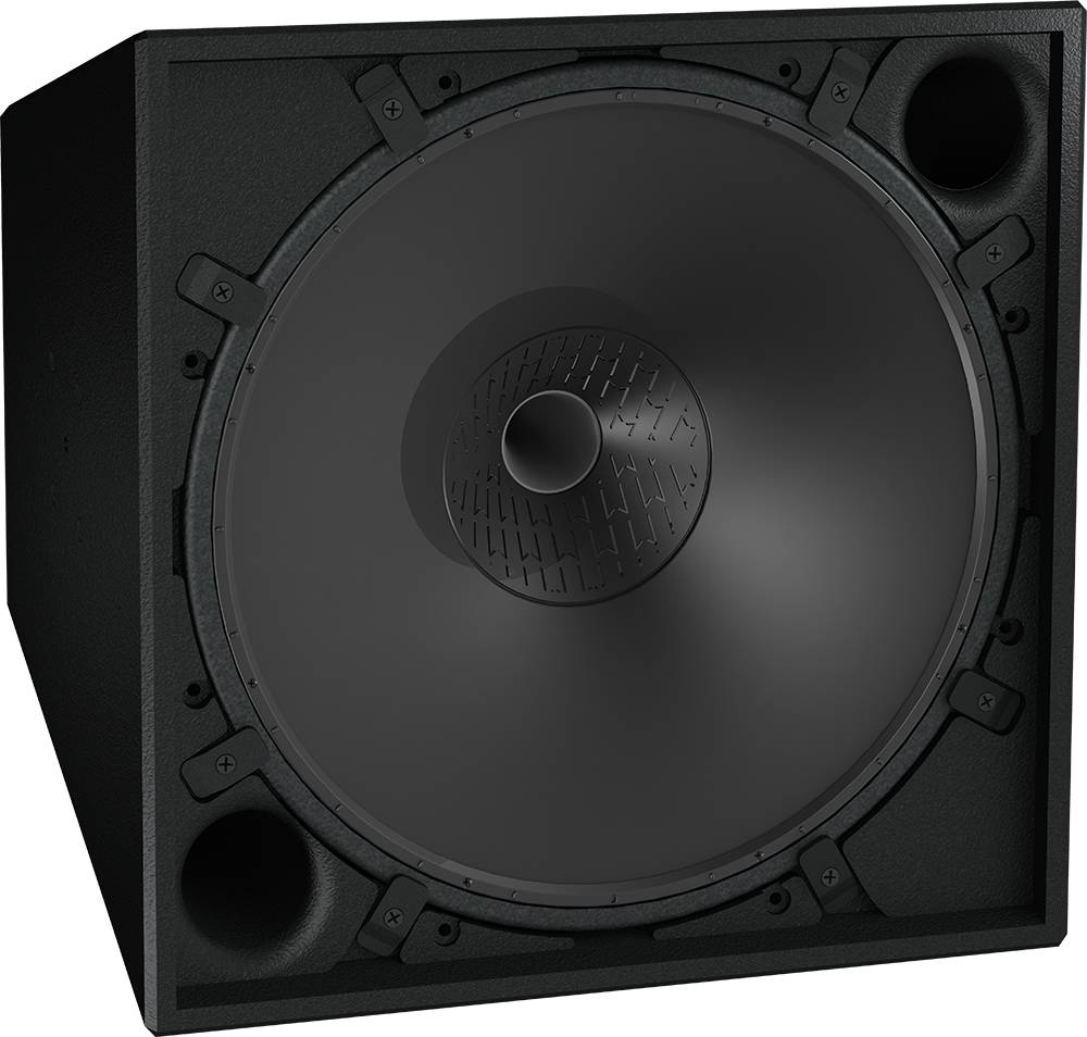 "Clair Brothers Active Coaxial, Horn-loaded Loudspeaker 12""LF, 3""HF (75°H x"