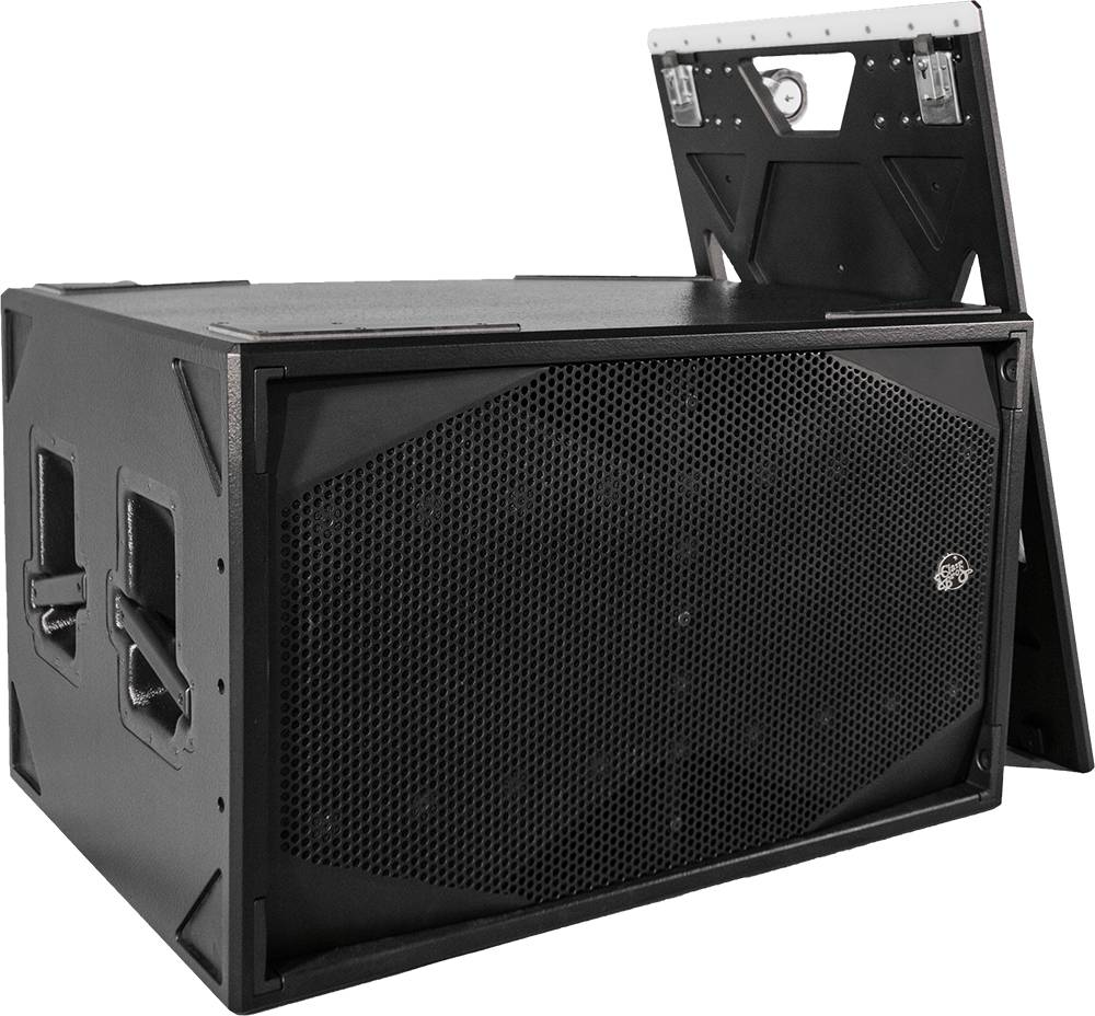 """Clair Brothers High output mobile Sub:2x18""""