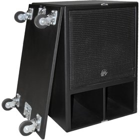 """Clair Brothers Mobile mid-bass: 18""""   12AM stacks on top for 3-way config"""