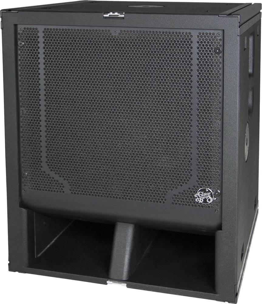 """Clair Brothers Self-powered mini-Sub (3200W): 18""""   Rigs w/kiT-series"""