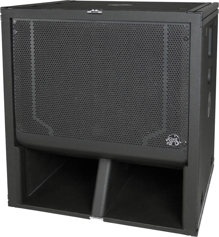 """Clair Brothers Self-powered Sub (3200W): 18"""" 