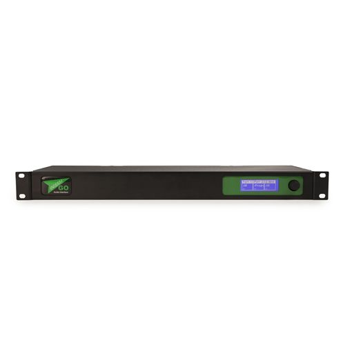 """GreenGO Audio interface 2x4 wire and 2 wire in 19"""" 1U"""