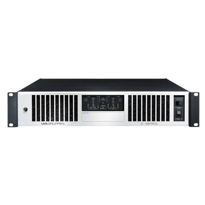 Lab Gruppen C 5:4X Amp 4x125W/4ohm EU+US