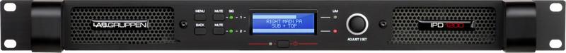 Lab Gruppen IPD 1200 DSP AMP 2X600W/4OHM EU