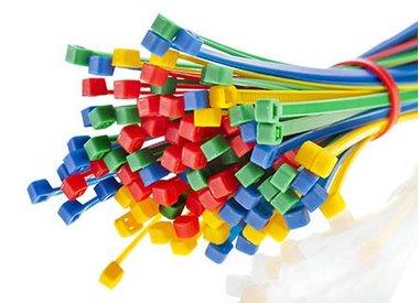 Kabelbinders gekleurd