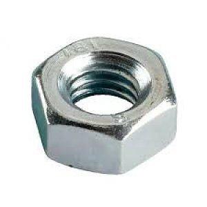 Zeskantmoer DIN934 staal verzinkt