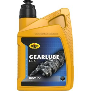 Kroon-oil Kroon-oil Gearlube GL-5 80W- 90 1 Liter