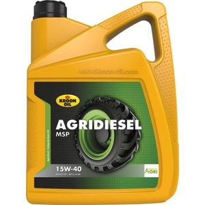 Kroon-oil Kroon-oil Agridiesel MSP 15W-40 5 Liter