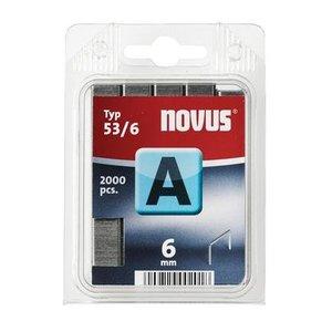 Novus Novus Dundraad nieten A 53/6 mm - 2000 stuks