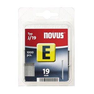 Novus Novus Nagels (spijkers) E J/19 mm SB - 1000 stuks - 044-0064