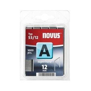 Novus Novus Dundraad nieten A 53/12 mm  SH - 1000 stuks