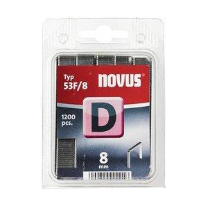 Novus Novus Vlakdraad nieten D 35F/8 mm - 1200 stuks