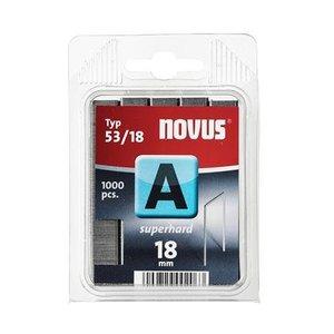 Novus Novus Dundraad nieten A 53/18 mm SH - 1000 stuks