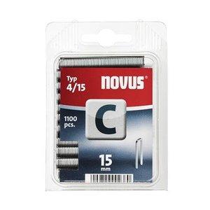 Novus Novus Smalrug nieten C 4/15 mm - 1100 stuks